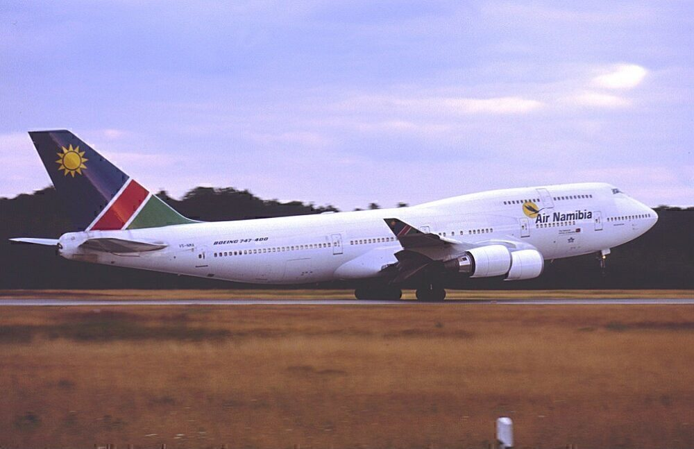 Air Namibia Boeing 747 Frankfurt