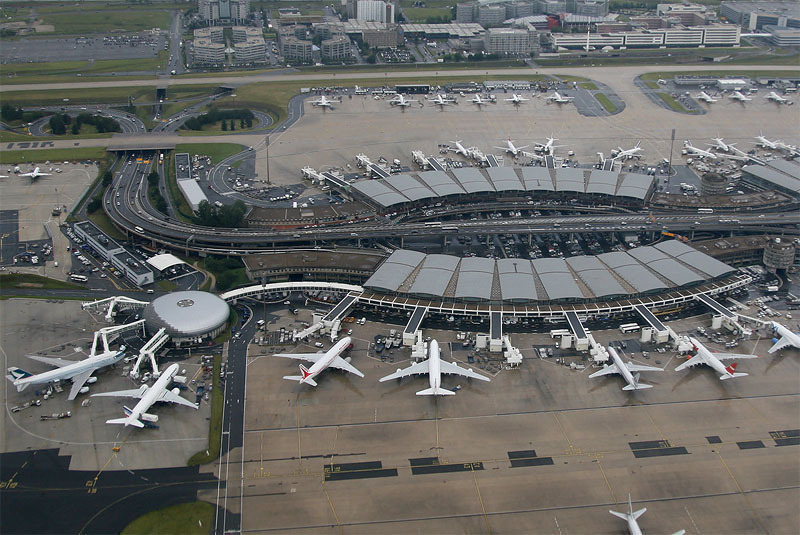 CDG terminals 2A and 2B