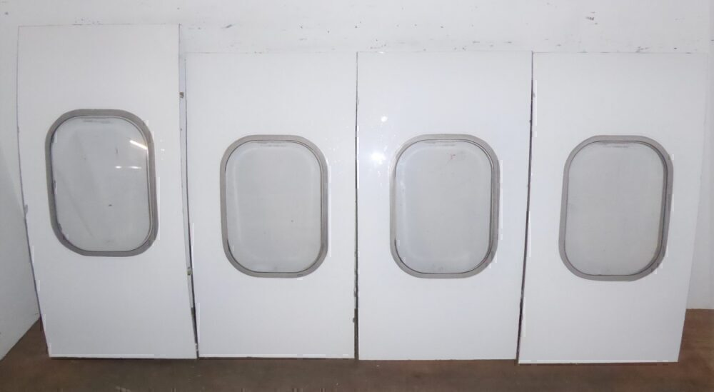 BA 747 window cuts for sale