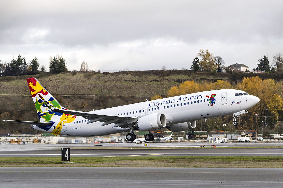 Boeing 737 MAX, Cayman Airways, Ungrounding