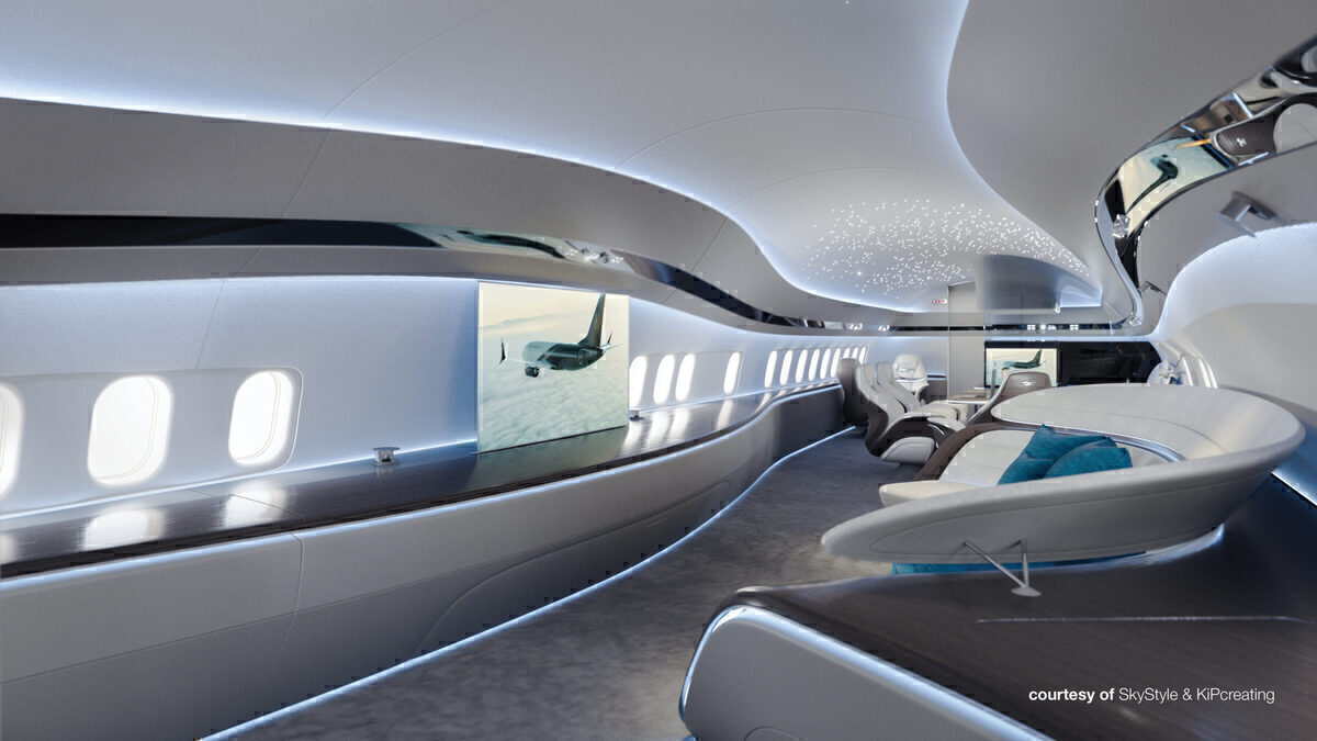 Stunning: Inside A Concept Boeing 737 MAX Business Jet