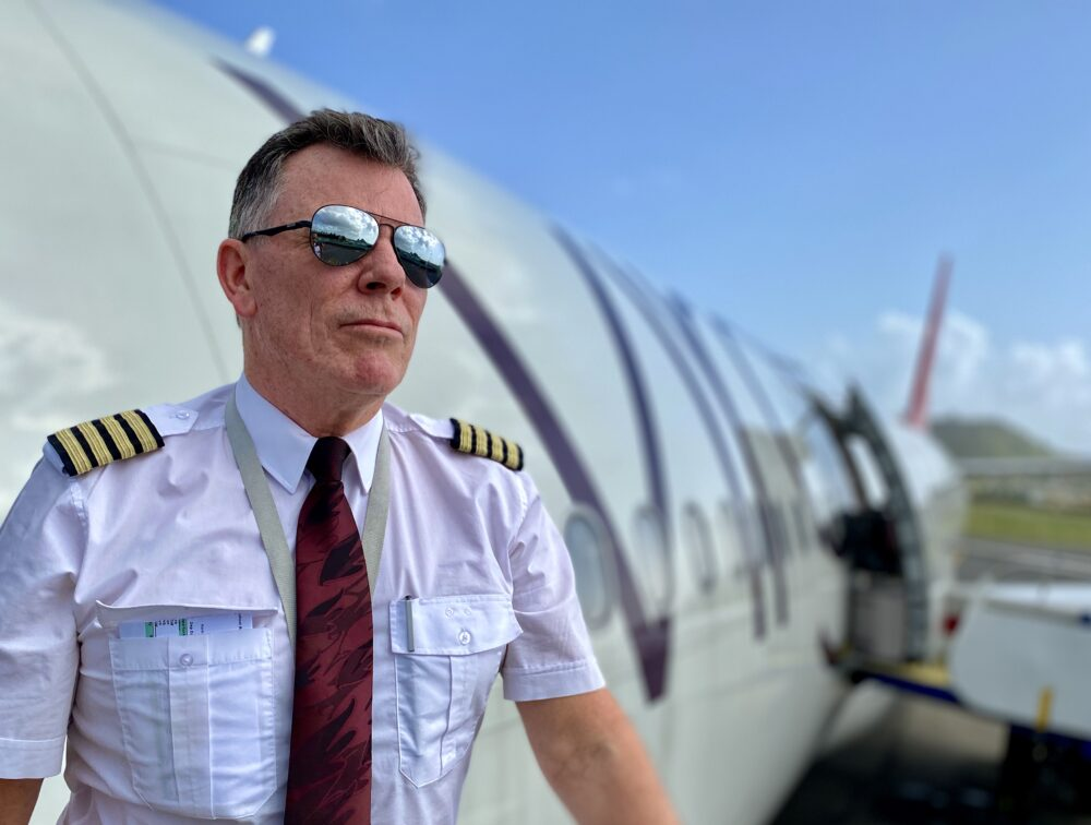 Captain Chris With Plane
