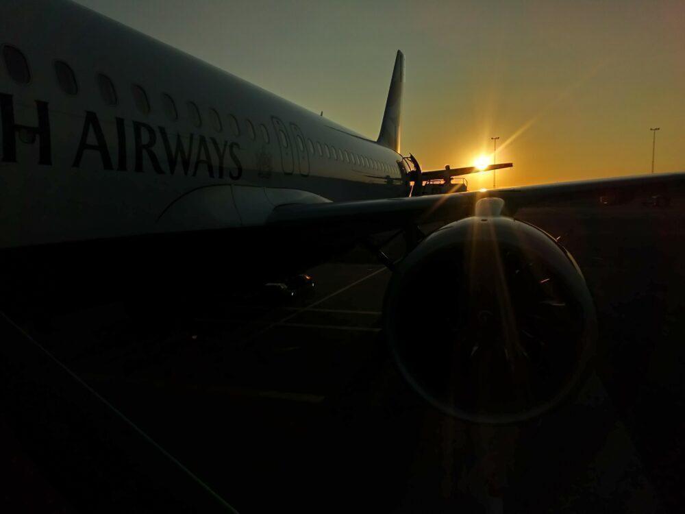 British Airways Airbus A320 Gothenburg