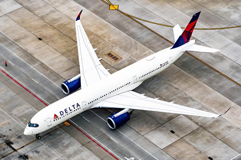 Delta Airbus A350s