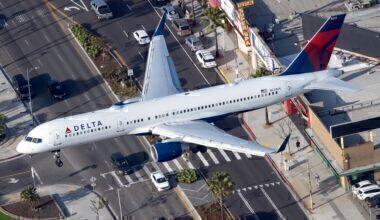 Delta Air Lines Boeing 757-251 N539US