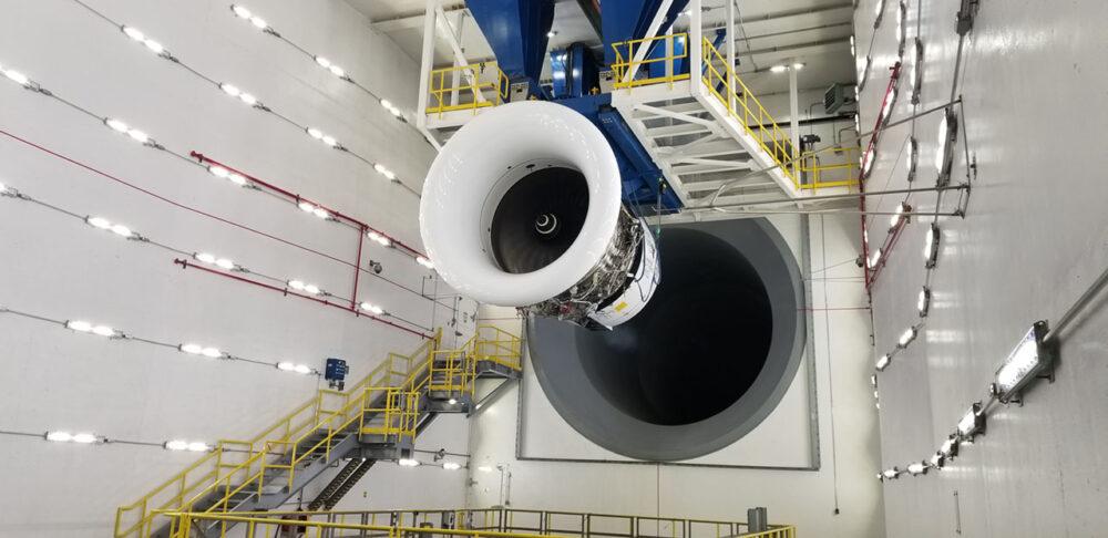 Delta A330neo engine visit