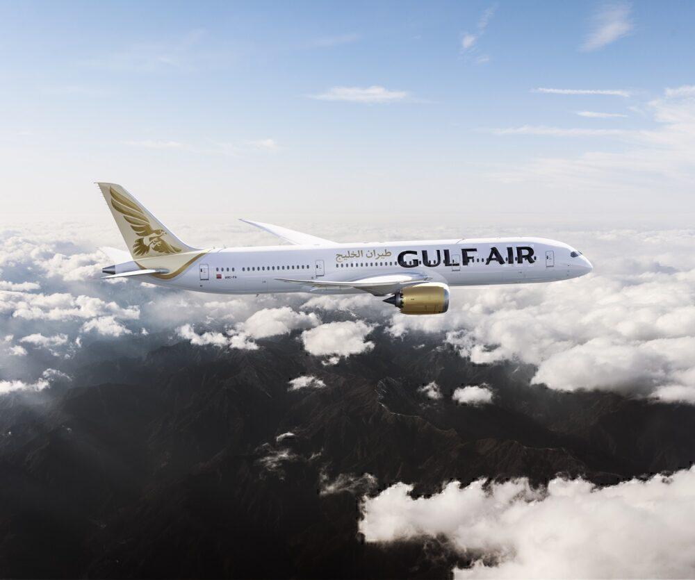Gulf Air Dreamliner 787-9 Singapore