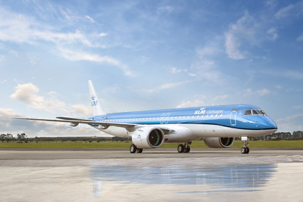 Embraer-klm-e195-e2