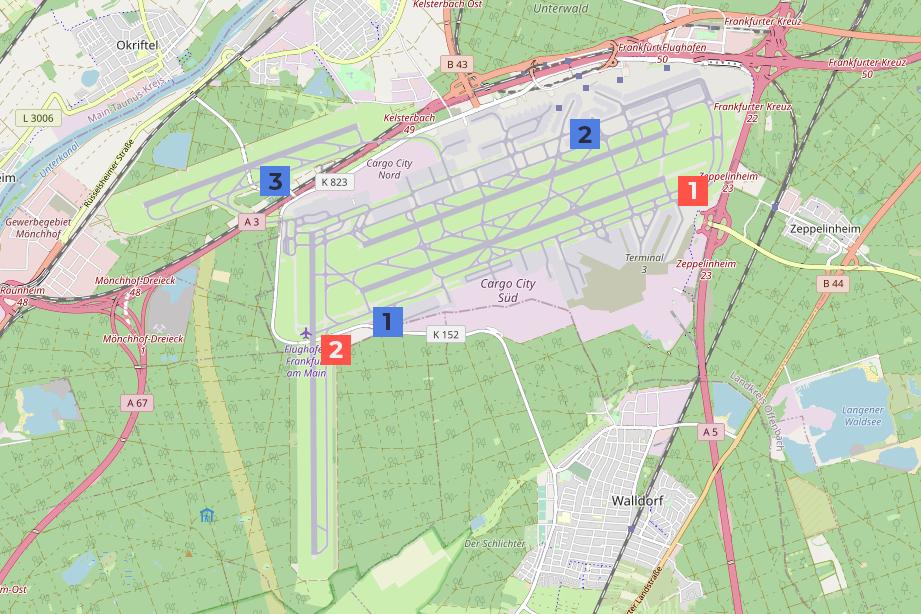 Frankfurt Airport, Fire Station, Rescue