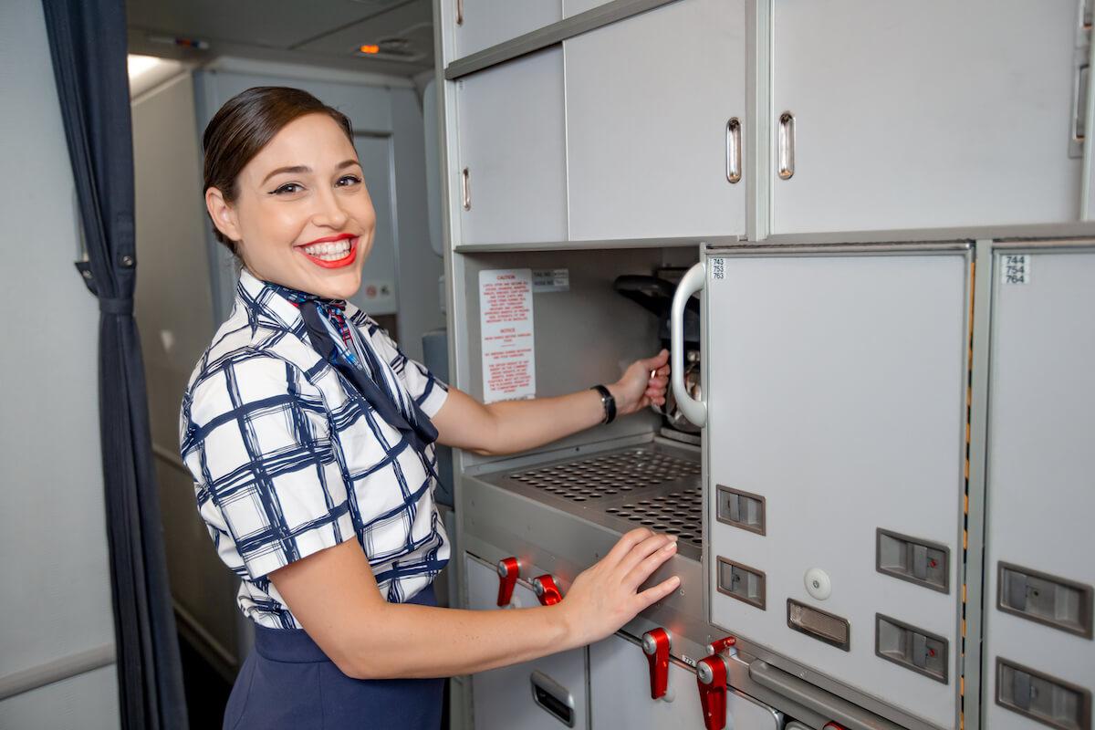 Flight-attendant-on-flight-4