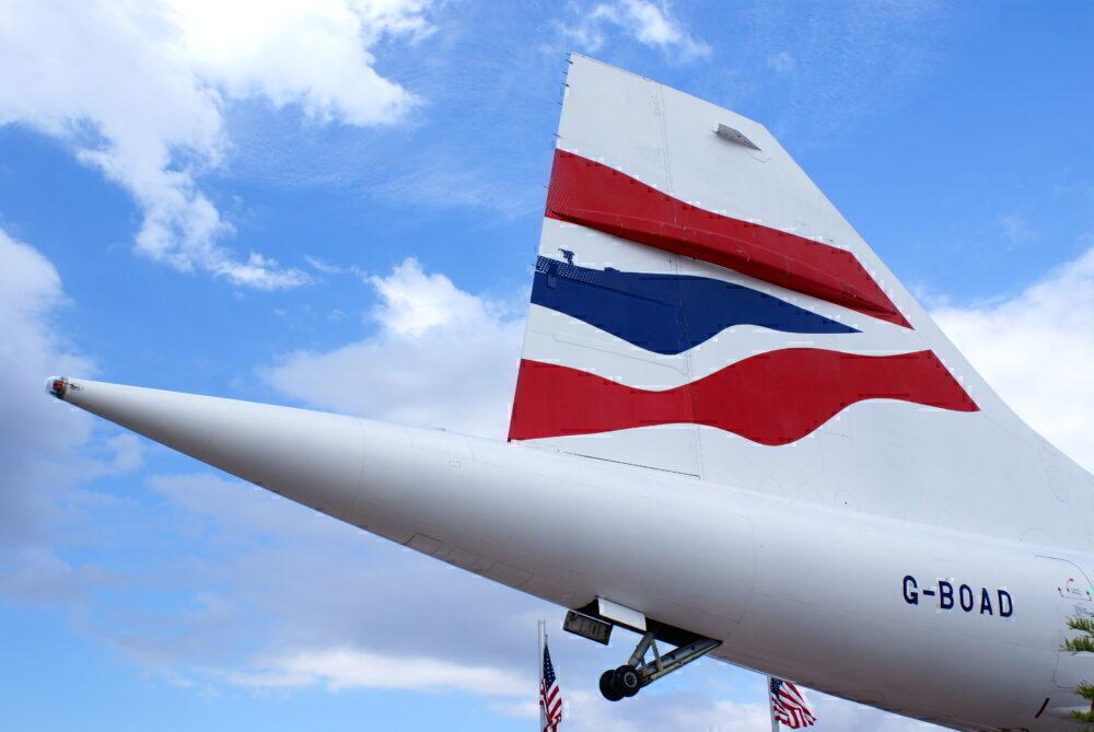 British Airways Concorde G-BOAD
