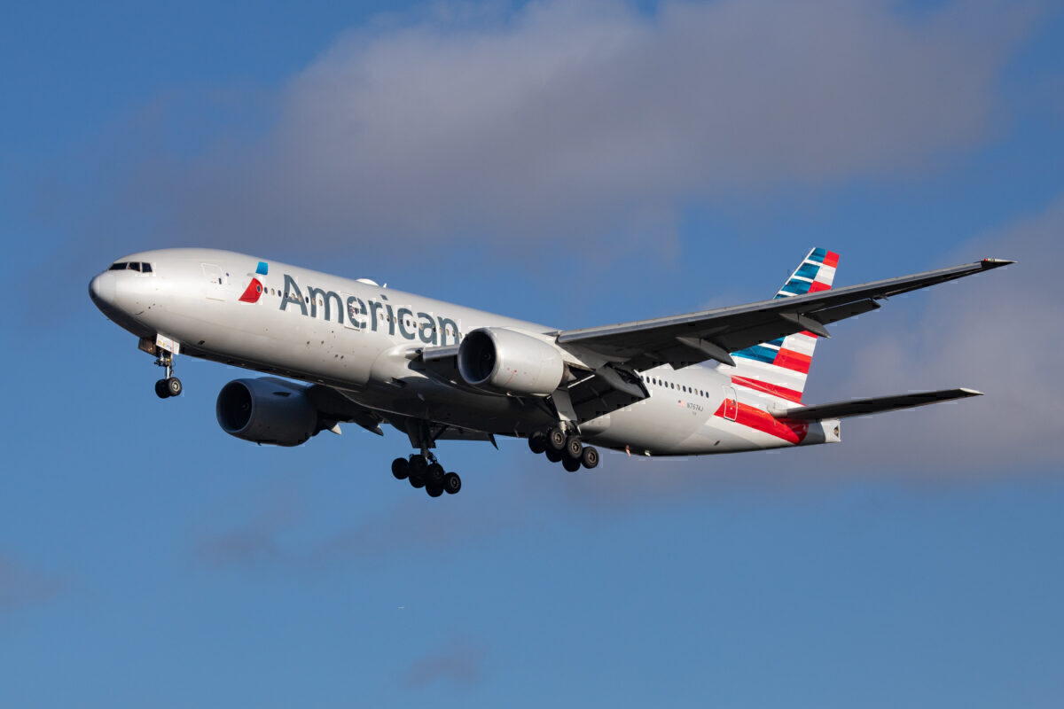 American Boeing 777 Getty