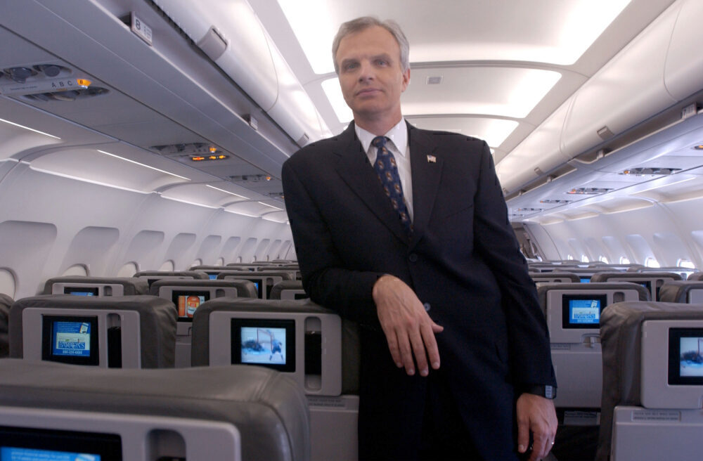 David Neeleman JetBlue Cabin