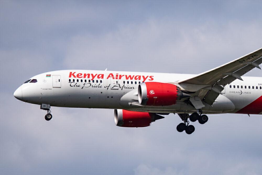 Kenya Airways Boeing 787-8 Dreamliner