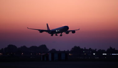 Aircraft Sochi Silhouette