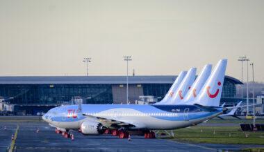 TUI 737 MAX pakred