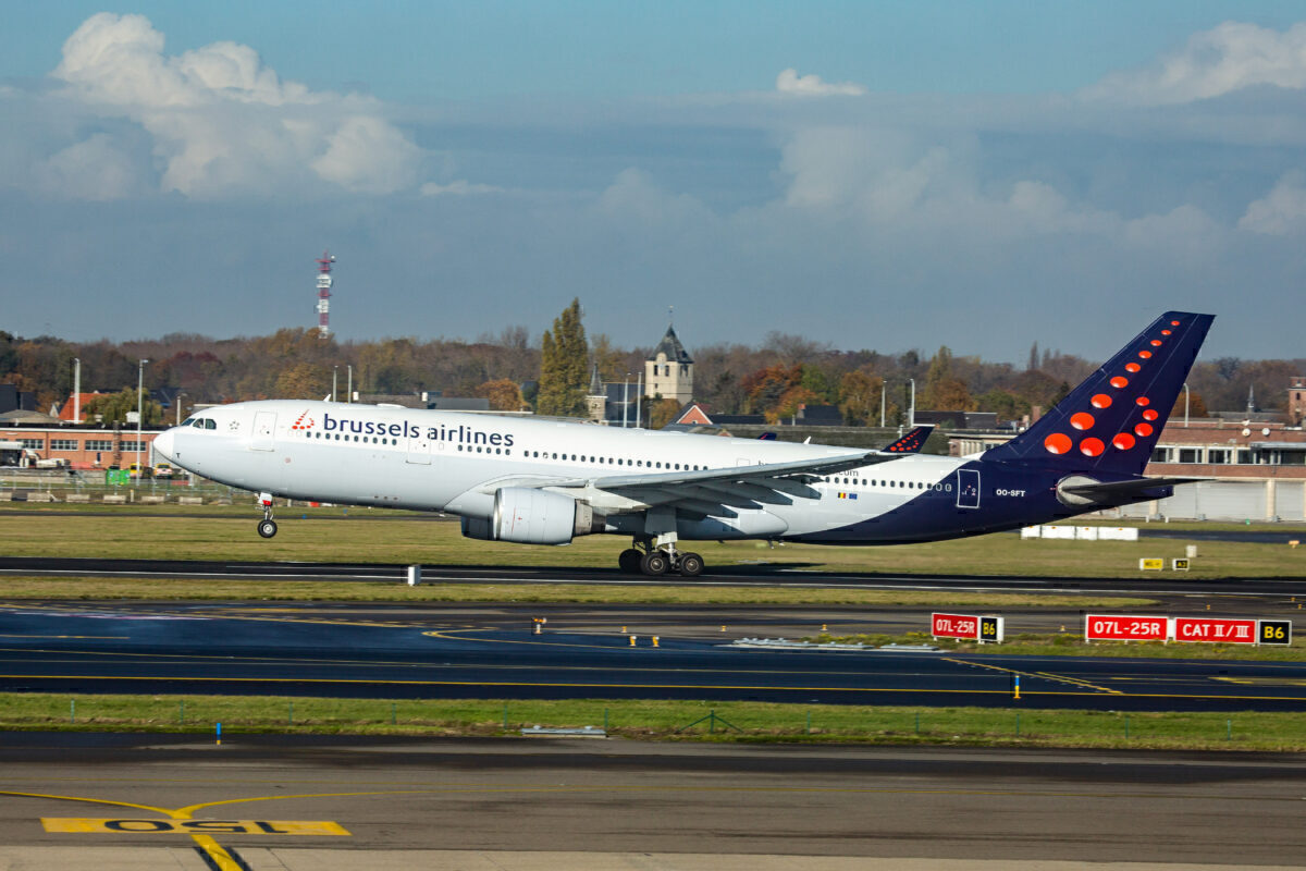 Brussels Airlines Airbus A330-200