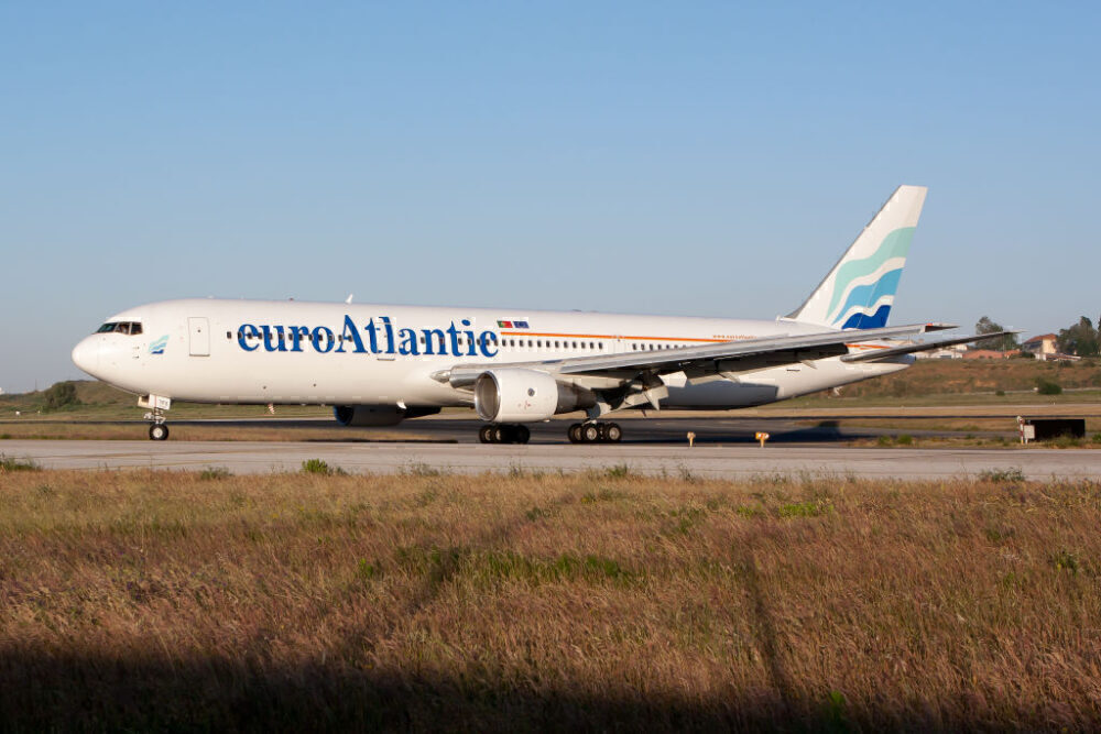 EuroAtlantic Boeing 767 Getty