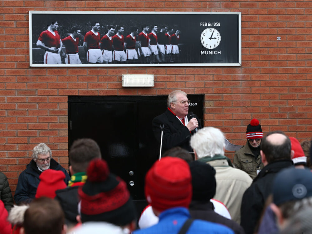 Manchester United Munich Air Disaster Memorial Service