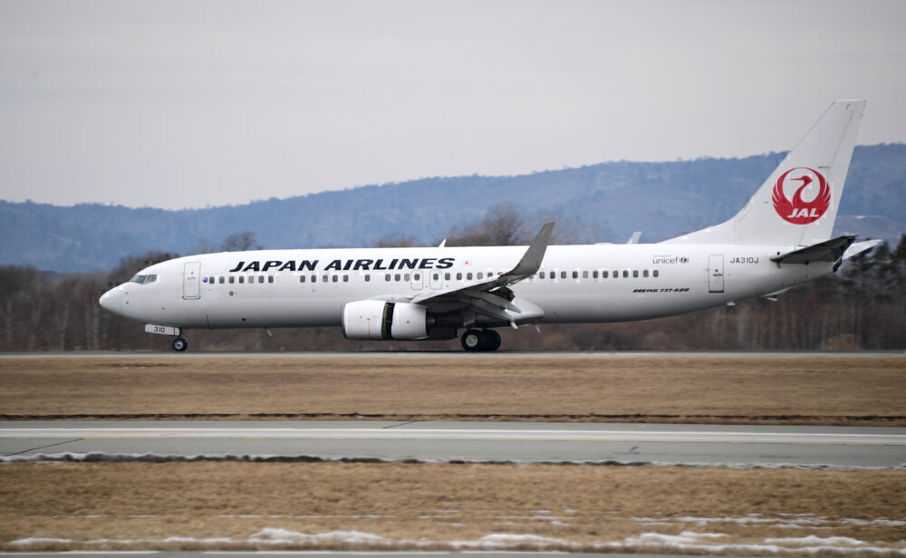 Japan Airlines Boeing 737-800 Aircraft