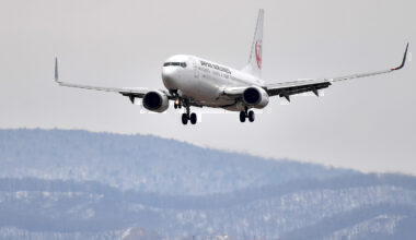 Japan Airlines Boeing 737-800