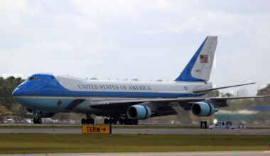 Air Force One Boeing 747 Daytona 2020