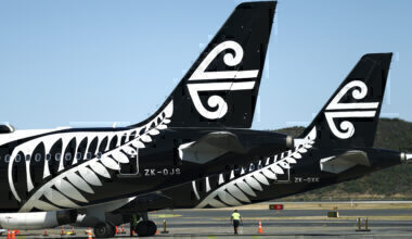 Auckland-lockdown-AIr-New-Zealand-Getty