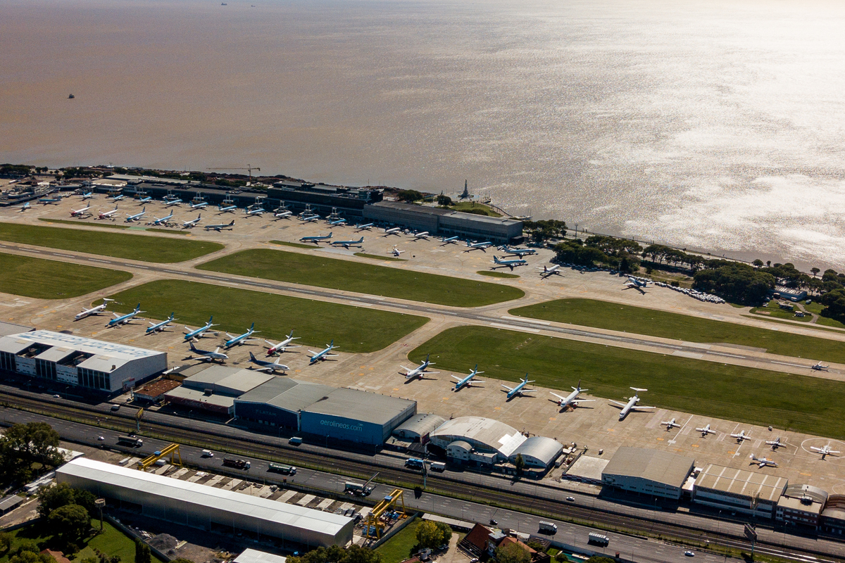 Jorge Newbery Airfield Buenos Aires Getty