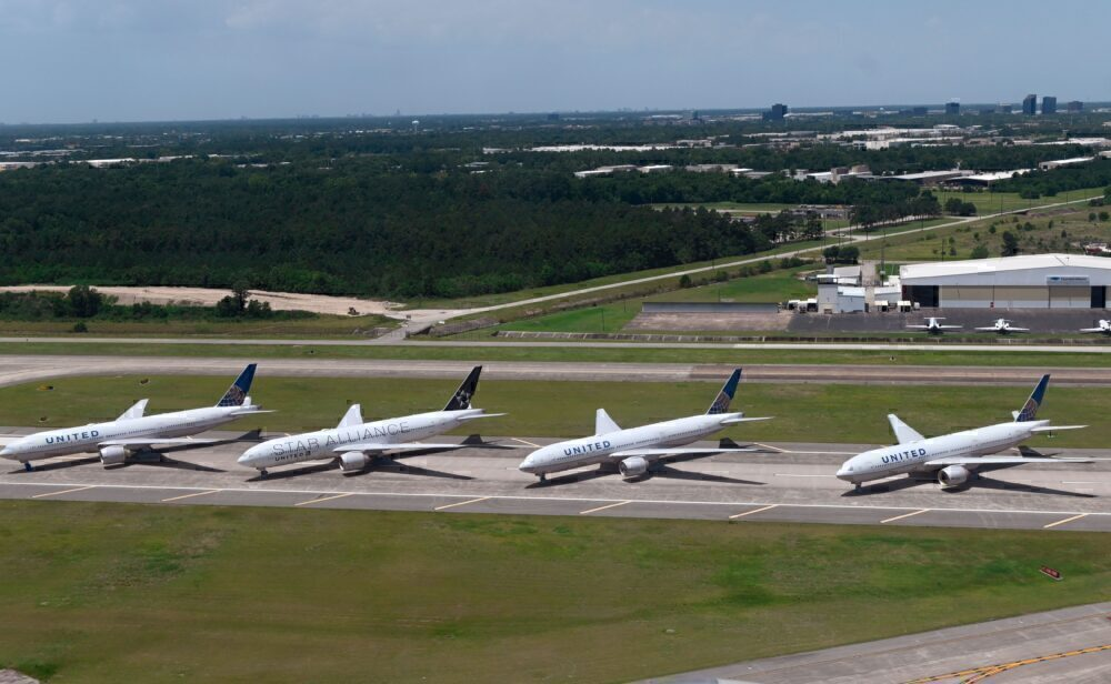 United Parked PLanes