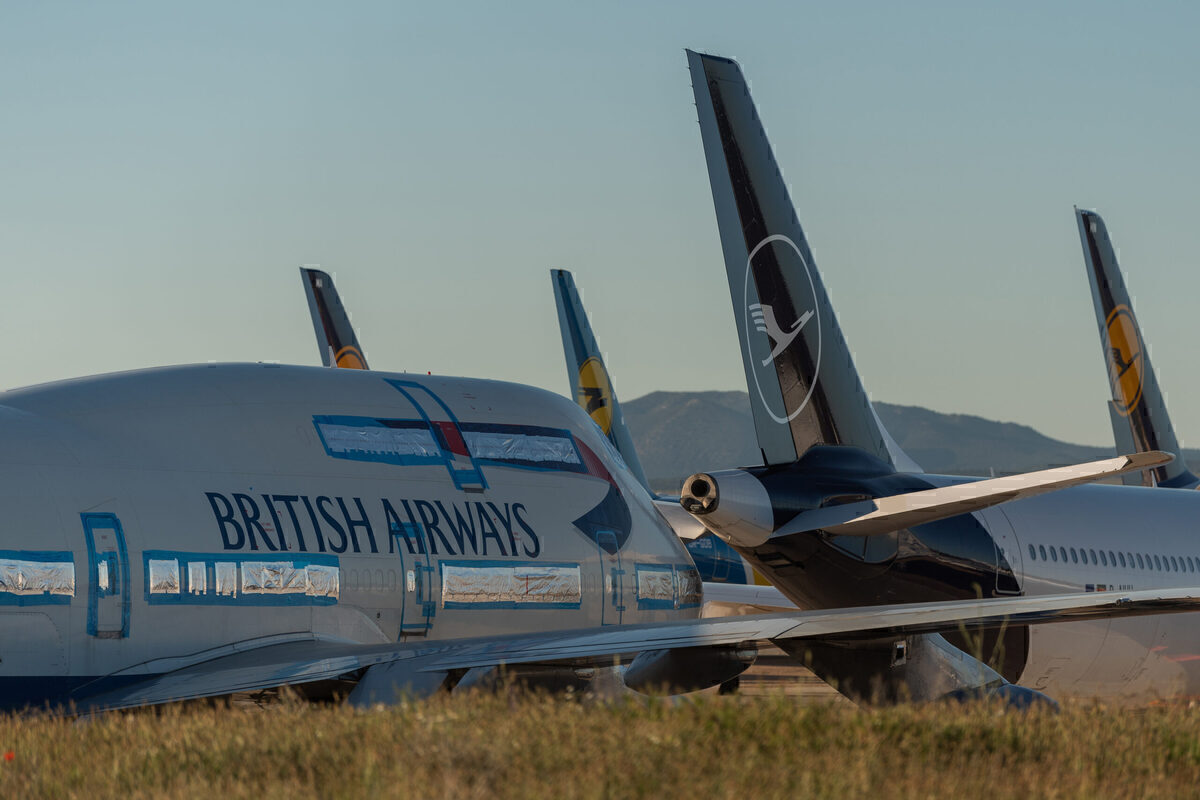 British Airways, Boeing 747, Teruel