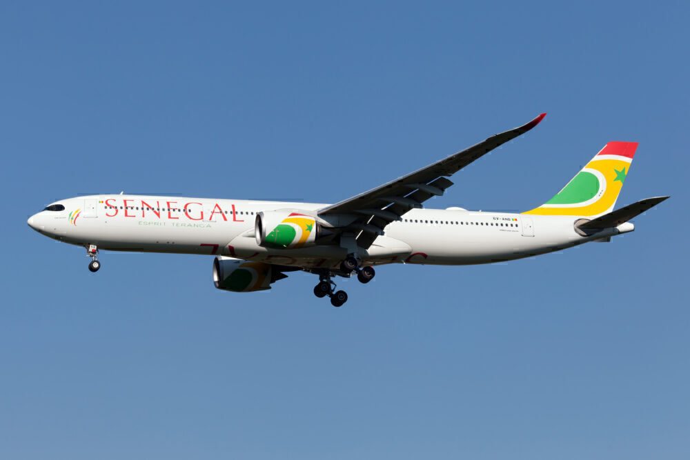 Where Does Air Senegal Fly Its Airbus A330neos?