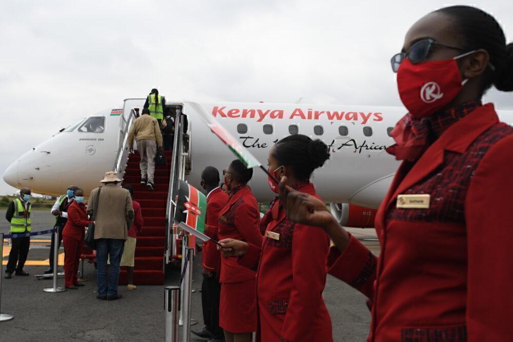 Kenya Airways embraer