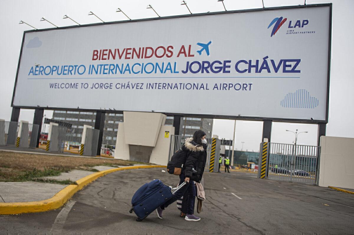 Peru Airport Lima Getty