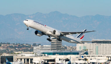 Air France Boeing 777 Los Angeles Getty