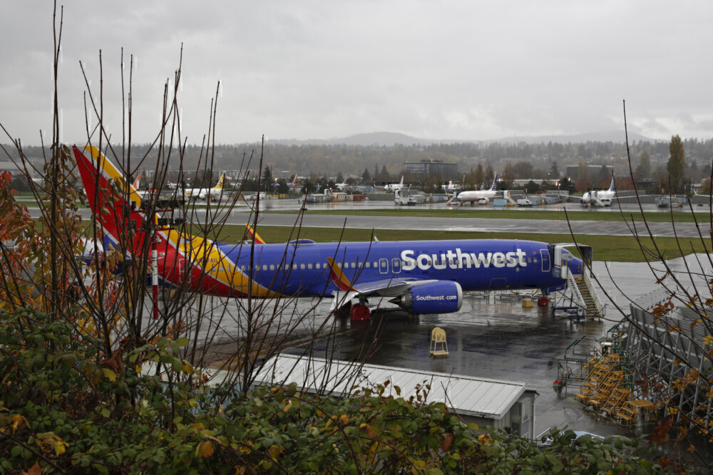Southwest 737 MAX Getty