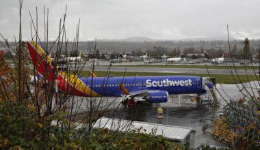 Southwest 737 MAX Getty