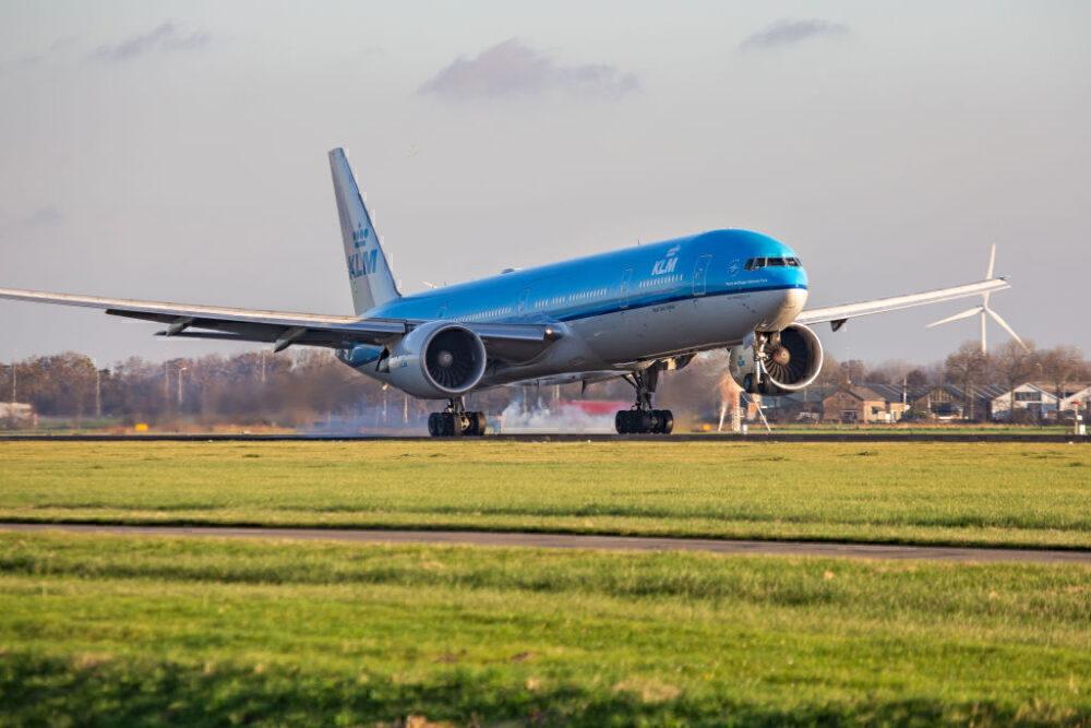 KLM Boeing 777 Amsterdam Polderbaan