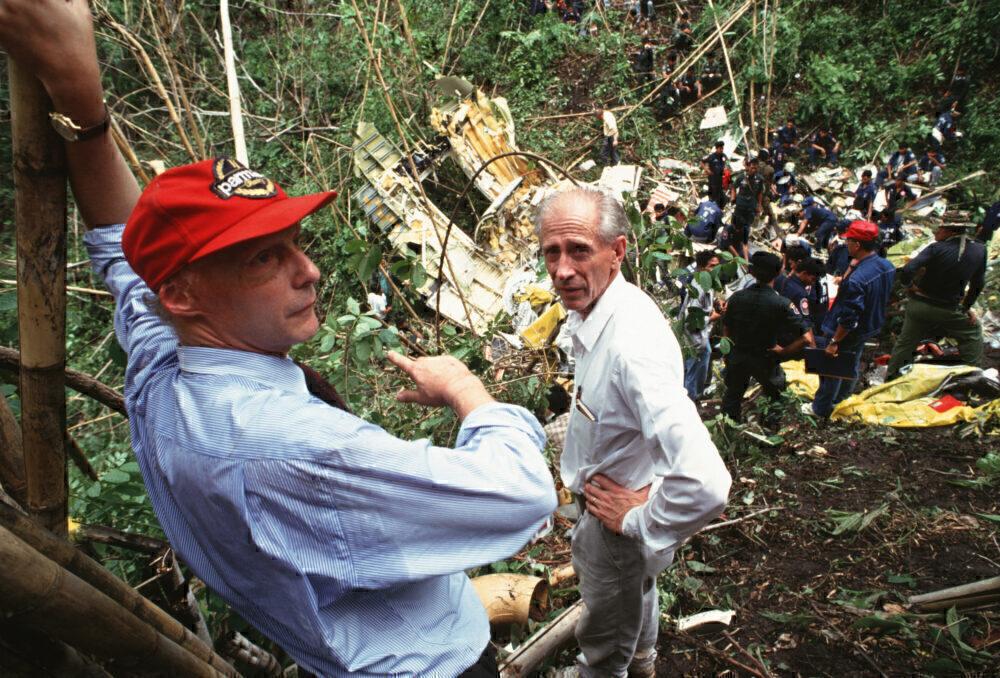 Niki Lauda Air Crash Thailand