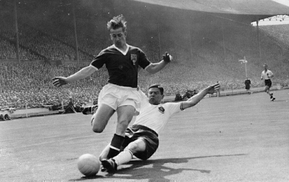 1958 FA Cup Final Getty
