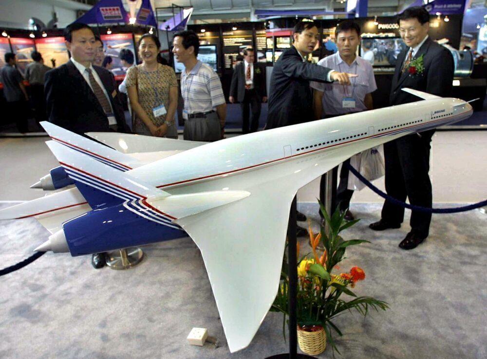 Boeing Sonic Cruiser Model