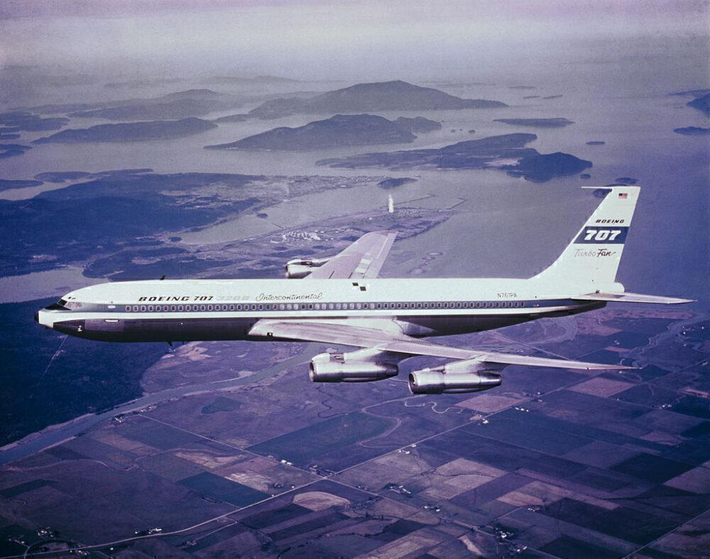 Boeing 707 Getty