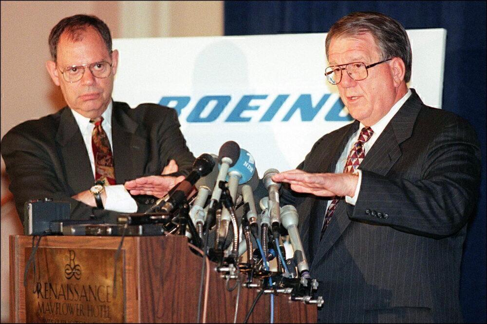 Boeing merger