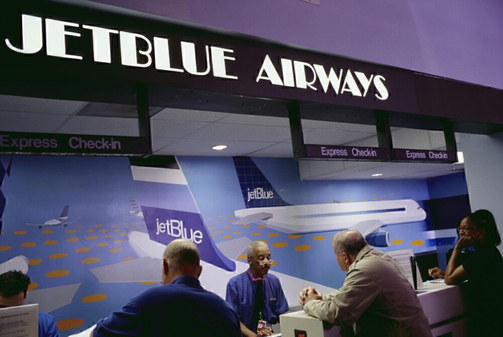 2002 JetBlue Airways Ticket Counter