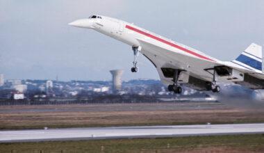 Concorde's First Flight