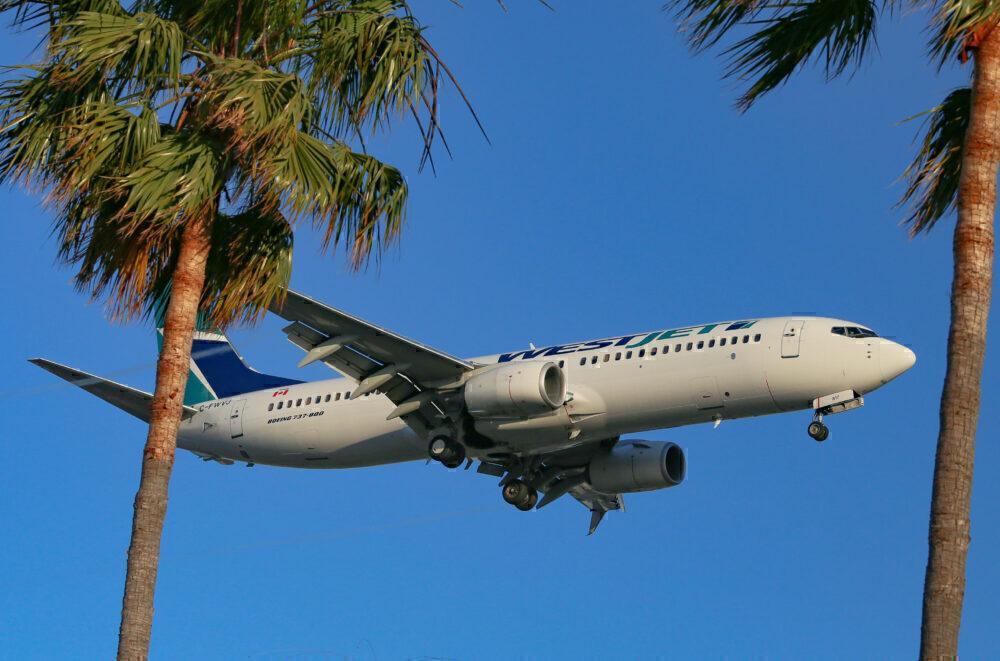 Westjet 737