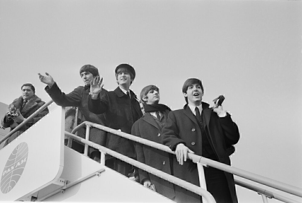 The Beatles At London Airport