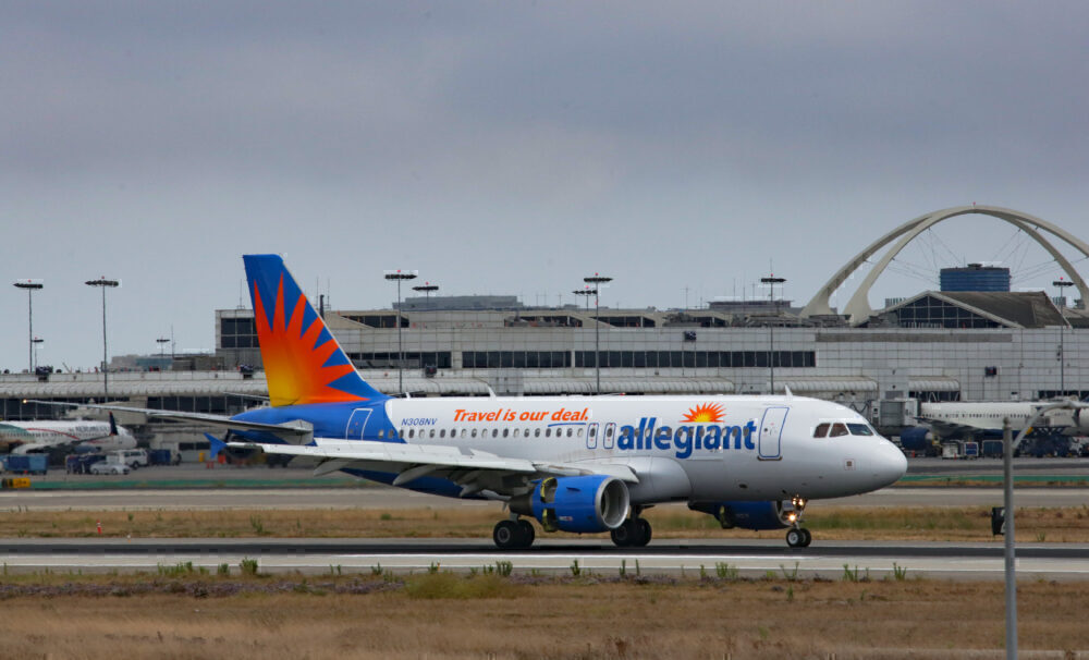 Allegiant Air Getty