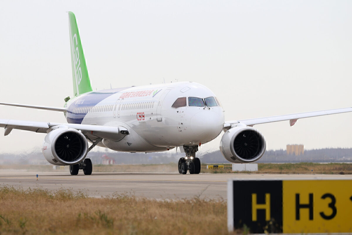 COMAC, C919, Airbus Competition