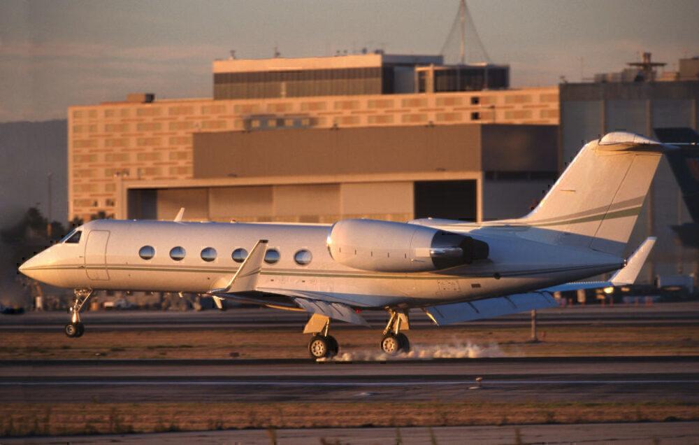 Gulfstream 400 Touchdown