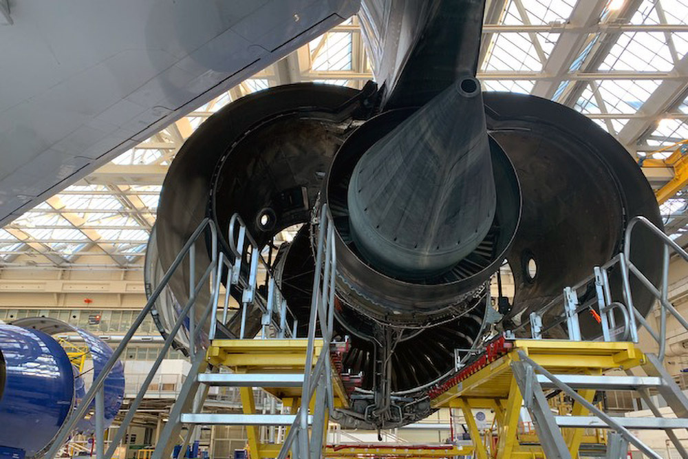 British Airways, Airbus A380, Engine